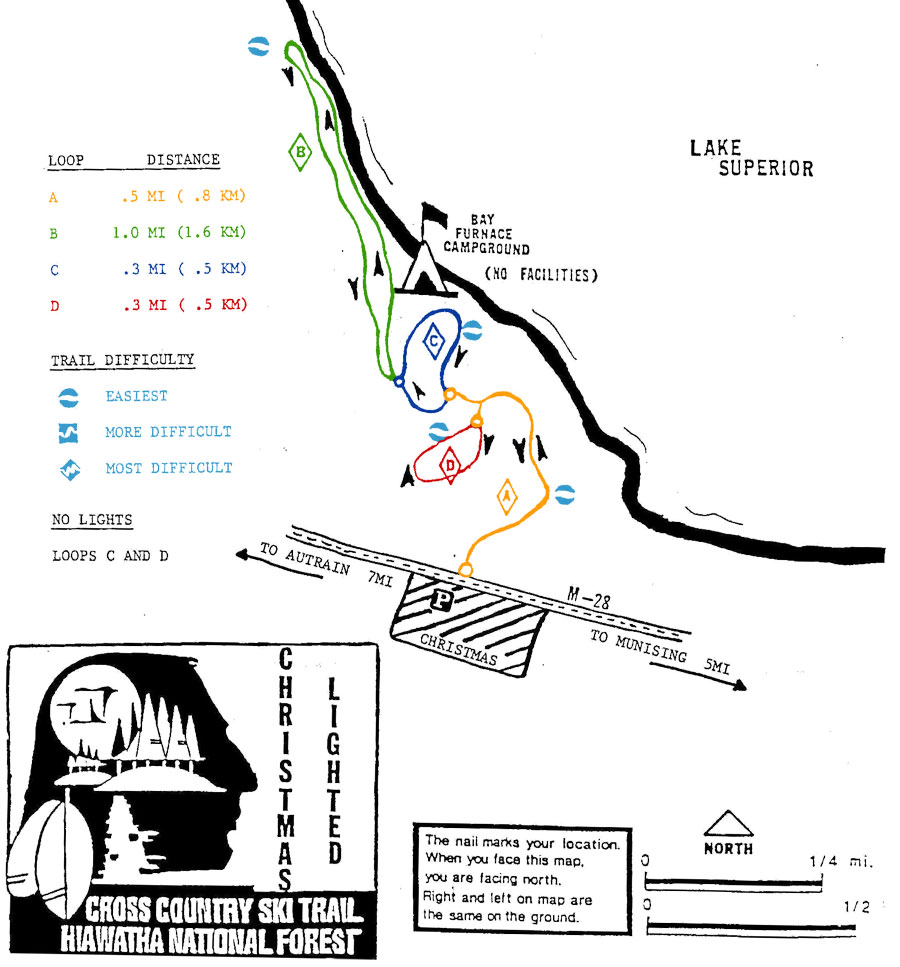 Ashford Lake Map