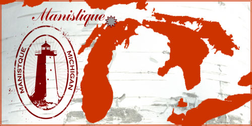 Manistique Michigan Map