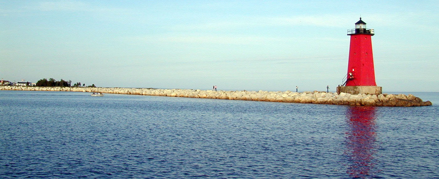 Manistique Breakwater Light