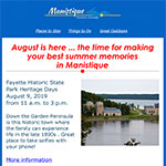 Manistique Newsletter July 2019