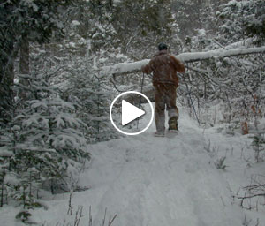 Snowshoeing - Schoolcraft County Environmental Lab